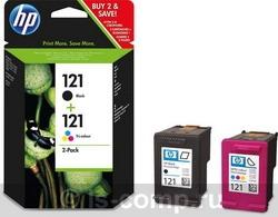 Струйный картридж HP 121 цветной двойная упаковка CN637HE фото #1