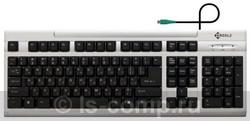 Клавиатура Kreolz KS302sb Silver PS/2 фото #1