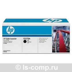 Лазерный картридж HP CE270A черный фото #1