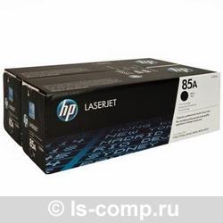 Лазерный картридж HP CE285AF черный двойная упаковка фото #1