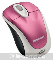 Мышь Microsoft Wireless Notebook Mouse 3000 Strawberry USB 62Z-00027 фото #1