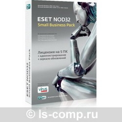 Eset Антивирус NOD32 SMALL Business Pack Russian NOD32SBP-NS-BOX-1-5 фото #1