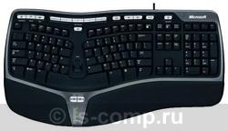 Клавиатура Microsoft Natural Ergonomic Keyboard 4000 Black USB B2M-00020 фото #1