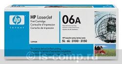 Лазерный картридж HP C3906A черный фото #1